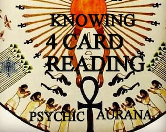 TAROT Reading FOUR CARDS with Two Questions Pdf Email reply quickly