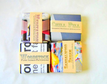 4 pk. Soaps for Men - fathers day gift for him