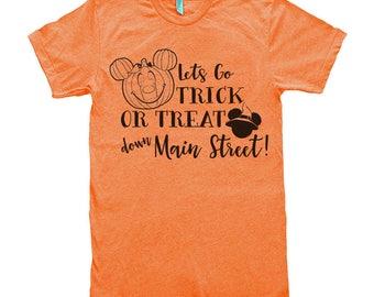 Disney Halloween Shirt. Halloween Shirt. Halloween Disney Shirt. Disney Halloween. Disney Halloween Family Shirts. Disney Shirts.Main Street