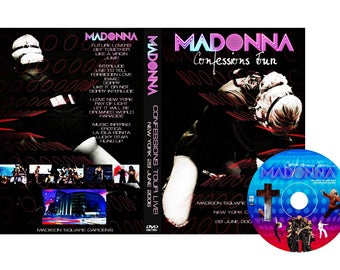Confessions Tour New York DVD Remastered Edition - Madonna