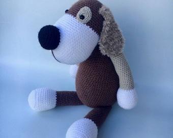 BORIS the dog crochet
