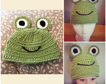 Frog Hat (Froggy)
