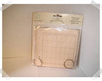 Mini Calendar Book Kit/ Melissa Frances/ Craft Supplies*