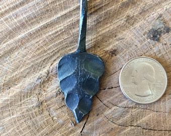 Hand Forged Steel Leaf