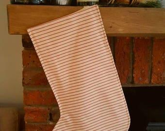 Handmade, handpainted, personalised Christmas Stocking