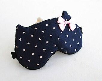 Sleep Mask Cat Bow Sleep Mask Sleep Mask for Women Eye Mask Sleep Slumber Party Favors.