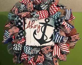 Nautical Wreath, Summer Wreath