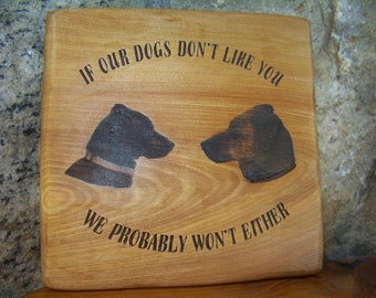 Dogs don't like you BL38