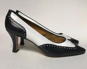 ESCADA Color Blocked Heels Size: 8