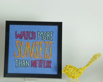 Watch more sunsets  wall art