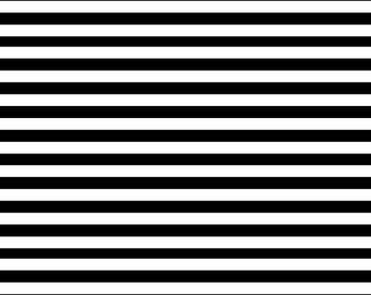 Black and white stripes Backdrop - geometric, stripe - Printed Fabric Photography Background W1251