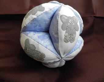 Ball child elephant