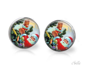 Christmas Earrings Winter-73