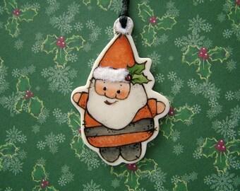 Santa Elf Ornament