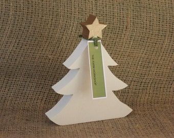 Christmas Trees handmade from Salvaged Wood (Small)