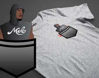 Hoodie Melo Carmelo Anthony Fauxket Tee