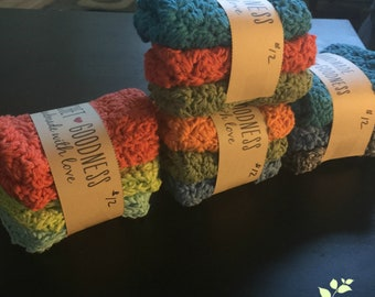 Cotton Crocheted Dish Cloths
