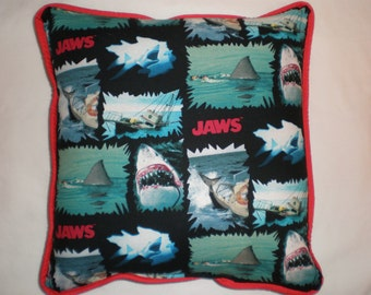 """Jaws """"We're Going To Need A Bigger Boat"""" Pillow"""