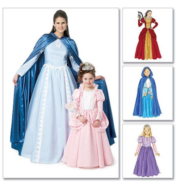 Misses Victorian Dress & Cape pattern - Costume Pattern - McCalls ...