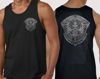 Crownsguard Tank Top and T-shirt (Front & Back printed)