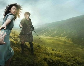 "Outlander Tv Series Poster 41"""