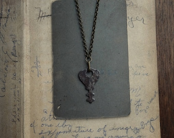 Antique Skeleton Key Necklace - Significance No. 067