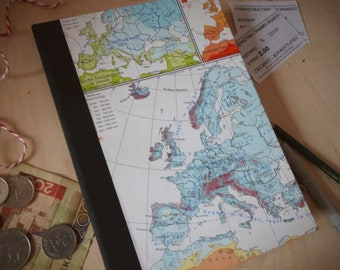Travel Diary, Journal, Europe Notebook