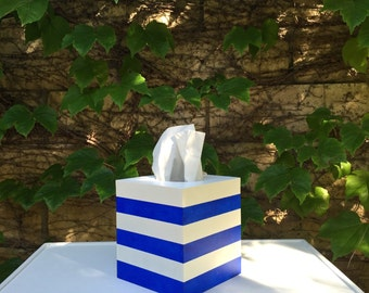 Zuma Stripe Tissue Box