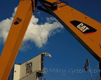 Architecture Photography - Detroit Tiger Stadium - Demolition-3