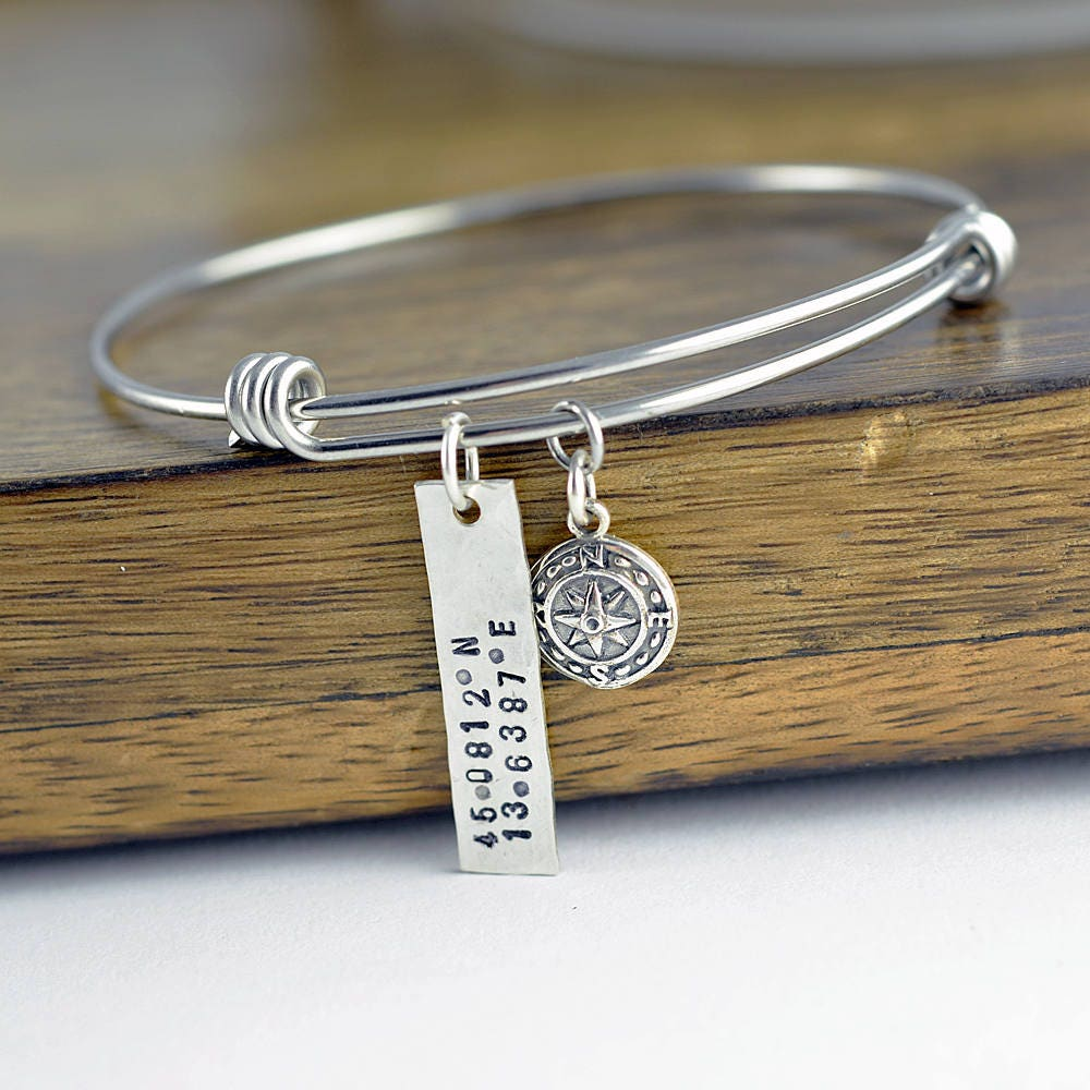 bracelet bangles from engraved hot moment stainless hand steel item mantra in live cuff the open stamped jewelry silver bangle