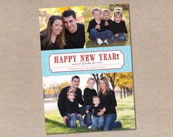 Holiday Photo Card: Tag New Year