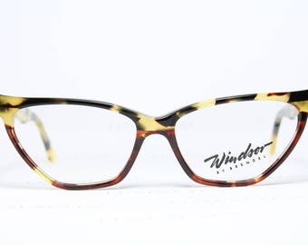 WINDSOR Cateye Vintage Original Brille Eyeglasses Occhiali Gafas 106 418 Germany RXqIGHxdP