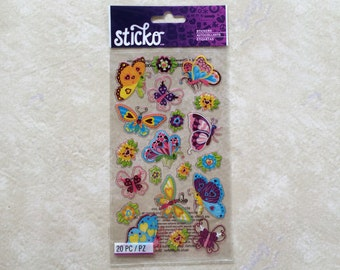 Magical Butterflies ~ Stickers by Sticko (Model: SPCLS277)