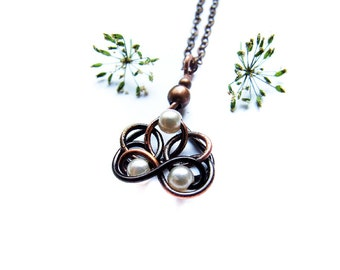 Bridesmaid Pendant Tutorial, DIY Wedding Gift, Wire Necklace Tutorial, Simple Pendant Tutorial, Bridesmaid Jewelry Tutorial 54