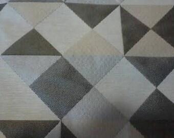 Geometric design fabric Twine