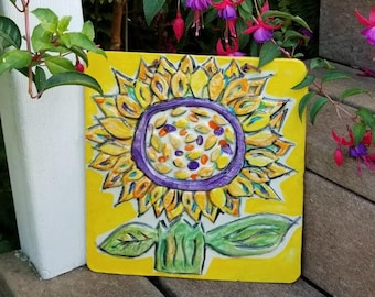 Sunflower Garden Tile