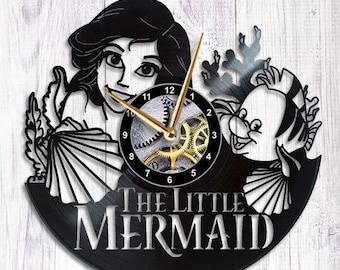 Little Mermaid Clock ariel disney