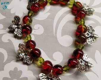 SPRING BEES stretchy beaded bracelet ALL for Charity