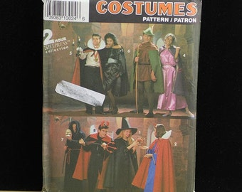 Simplicity Costume Pattern 8010 Vampire Robin Hood Devil and More