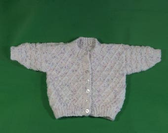 Baby girls cardigan 0 - 3 months