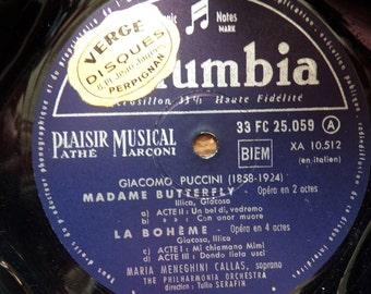 Vintage vinyl transformed into Organizer