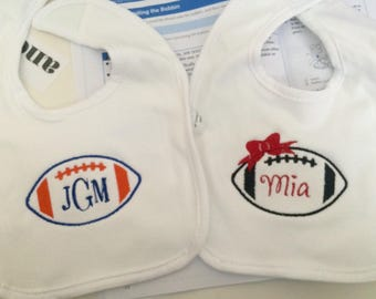 Personalized baby bibs ~ Name or monogram