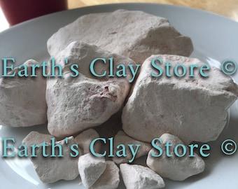 Natural, edible Kaolin Marble Clay Chunks