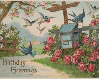5 Antique Postcards