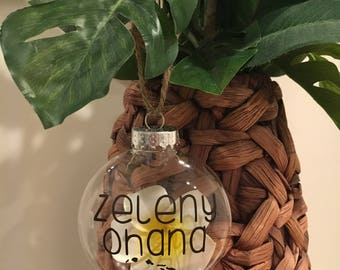 Customized Ohana Ornament