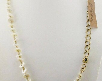 Lucky Brand Knotted Disc Necklace  22""