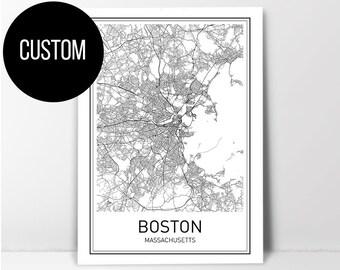 Custom Map Art, Custom Map Print, Custom Map, City Map Print, City Map Art, Map Print, Map Poster, Map Art, City Map Poster, Large Maps