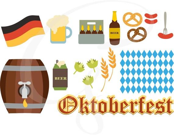 oktoberfest vector oktoberfest clipart commercial use rh etsy com oktoberfest clip art borders oktoberfest clip art free images