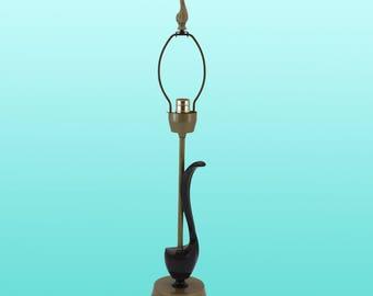 Laurel Mid-Century Genie Table Lamp - Mid-century Lamp -Vintage Lamp - Sculptural Lamp
