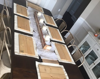 Wooden Table Placemats